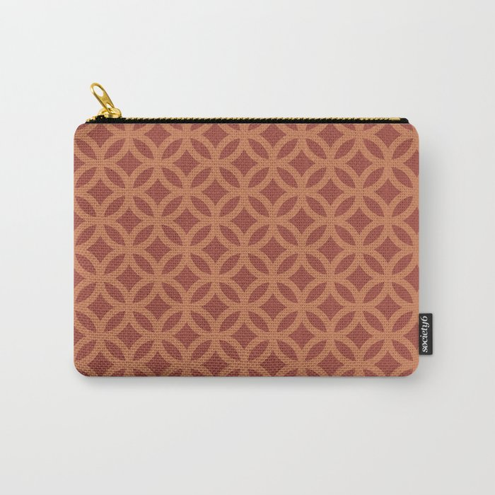 Modern Grid Carry-All Pouch