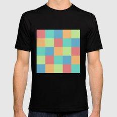 Pixels Mens Fitted Tee Black MEDIUM