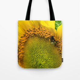 1493 - Sunflower Bumble Tote Bag
