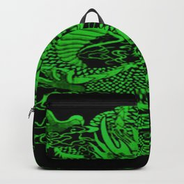 Epic Dragon Green Backpack