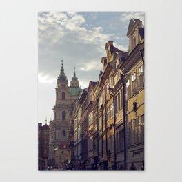 Streets of Prague Canvas Print