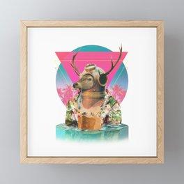 Summer Mood Framed Mini Art Print