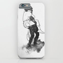 Safety far away. iPhone Case