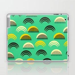 Decor semicircles Laptop & iPad Skin