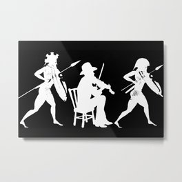 Fighting Fiddler II Metal Print