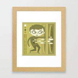 Master of Domains Framed Art Print