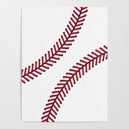 Fantasy Baseball Super Fan Home Run Poster