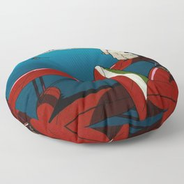 Porco Rosso Floor Pillow