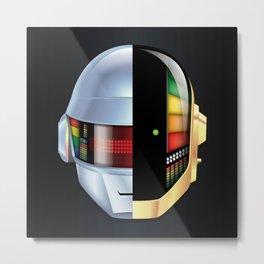 Daft Punk - Discovery variant Metal Print