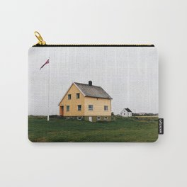Typical house in Lofoten Islands Carry-All Pouch
