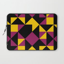 Squares, triangles and other polygons in confusion. Laptop Sleeve