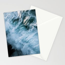 Wave in Ireland during sunset - Oceanscape Stationery Cards