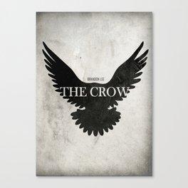 The Crow - Minimal Canvas Print