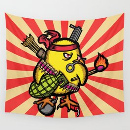 Se Armo El Pollo Wall Tapestry