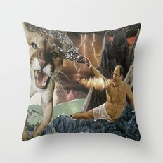 CANTSTANDYA: The Wrath of George Costanza Throw Pillow