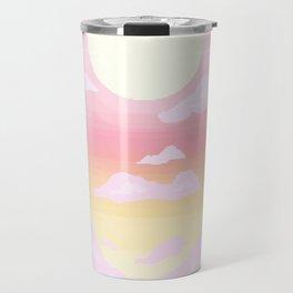 Pink light Travel Mug