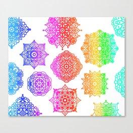 Zentangle Flow #2 Canvas Print