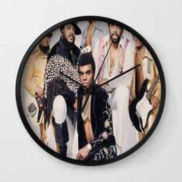 The Isley brothers - smooth sailin Wall Clock
