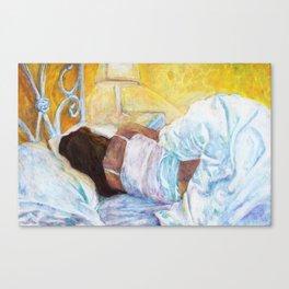 Grace Cover Canvas Print