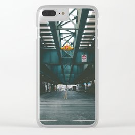 Under the M Clear iPhone Case