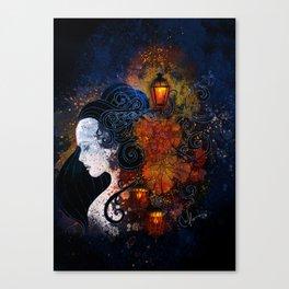Lisbon Lights Canvas Print