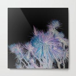 Alien Palm Tree Metal Print