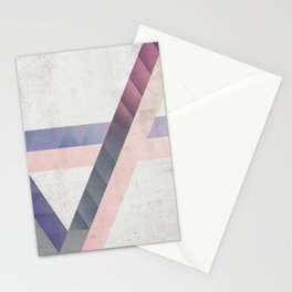 Unespected Geometry Stationery Cards