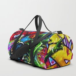 Harlem Hall of Fame Hip Hop/Rap Urban Art Mural Photograph Duffle Bag