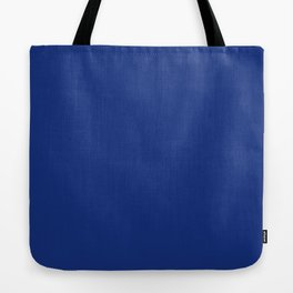 Solid Bright Lapis Blue Color Tote Bag