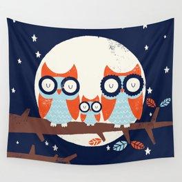 Night Owls Wall Tapestry