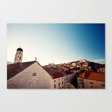 Sunrise in Dubrovnik Canvas Print