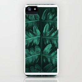 Framed Leafe iPhone Case