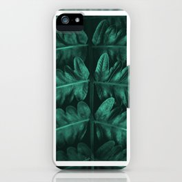 Framed Leafe iPhone Case