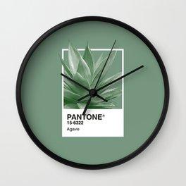 Pantone Series – Agave Wall Clock