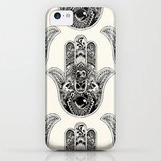 Hamsa Hand Pug Slim Case iPhone 5c
