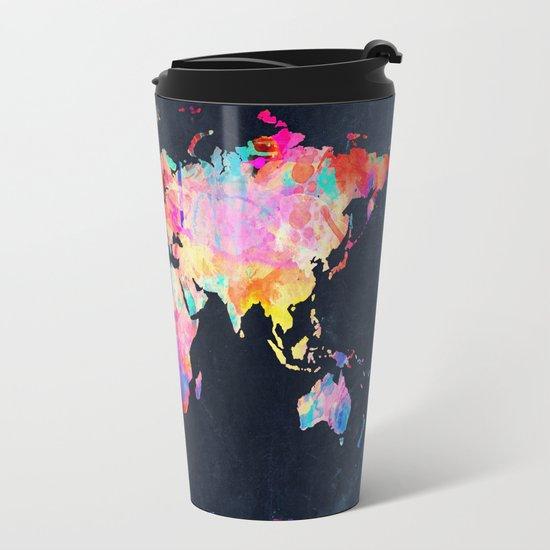World map travel mug by bekimart society6 sciox Image collections