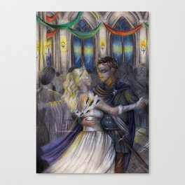 The Assassin and the Prince Canvas Print