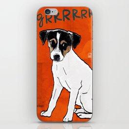 Dog: Rat Terrier iPhone Skin