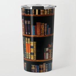 The Bookshelf (Color) Travel Mug