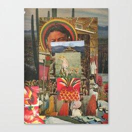 The Pineapple Man Canvas Print