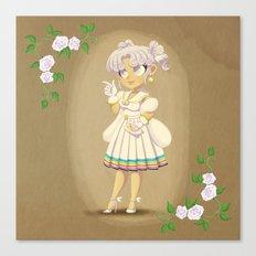 Retro Sailor Cosmos Canvas Print