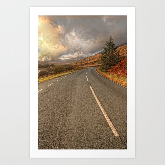 Road Of Colours Art Print