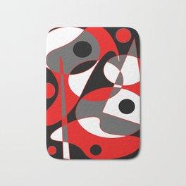 Abstract #855 Bath Mat