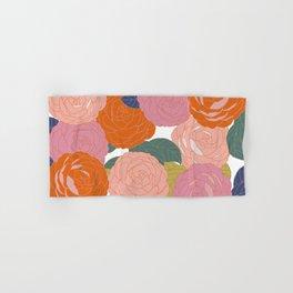 Flowers In Full Bloom Hand & Bath Towel