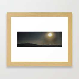 Somewhere in Jeju Framed Art Print