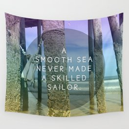 Smooth Sea Wall Tapestry