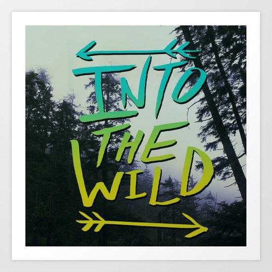 Into the Wild IV Art Print