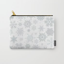 Snowflake pattern Carry-All Pouch