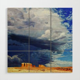 Afternoon Storms Wood Wall Art