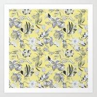 Felicity Flowers Art Print